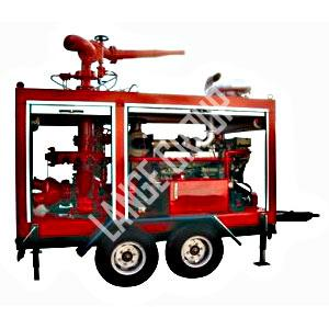 Portable foam fire suppression systems