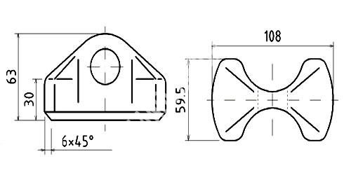 welding cone welding cone container fixed fitting