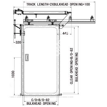 Semi Watertight Sliding A60 Fire Door A60 Fire Door Class A Fire  sc 1 st  Woonv.com : pneumatic pocket doors - pezcame.com