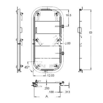 6-Dog Hinged Watertight Door6-Dog Watertight DoorHinged Watertight DoorWatertight DoorMarine Door -Product Details  sc 1 st  Chongqing Lange Machinery Group Co.Ltd. & 6-Dog Hinged Watertight Door6-Dog Watertight DoorHinged Watertight ...